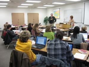 Phil teaching at Fuller Seminary Northwest