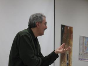 Phil making a point at Fuller Seminary